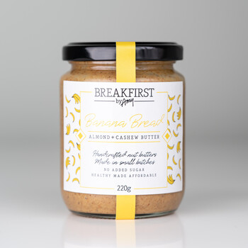 Breakfirst by Amy Banana Bread Almond x Cashew Butter