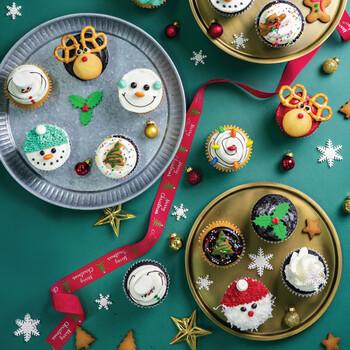 Christmas Cupcakes (Vanilla)