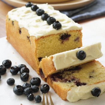 Blueberry Almond Loaf